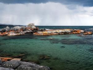 Australie vakantie, Binalong Bay, Tasmanië